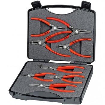 Juego de alicates de precisión para arandelas ref. 00 21 25 (8 piezas)