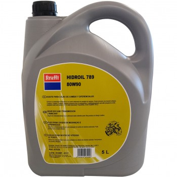Aceite para cajas de cambio y diferenciales ref. hidroil 789 ep80w90 gl-5