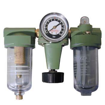 Regulador, filtro y lubricador