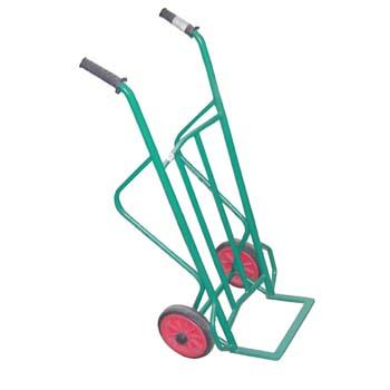 Carretilla con ruedas de goma (140 kg)