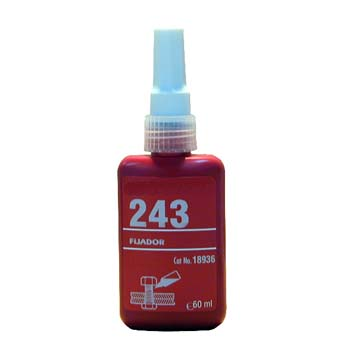 Fijador de tuercas loctite 243