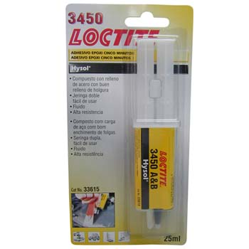 Adhesivo epoxi loctite 3450