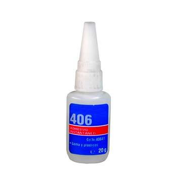Adhesivo loctite 406.