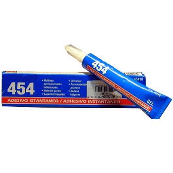 Adhesivo instantáneo loctite 454
