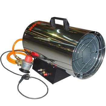 Generador de aire caliente a gas mod. gt 250 er-inox