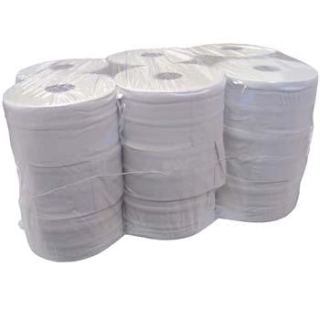 Paquete de 18 rollos de papel higiénico industrial