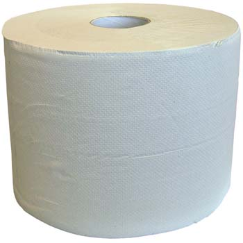 Bobina de papel industrial ecologica de 2 capas