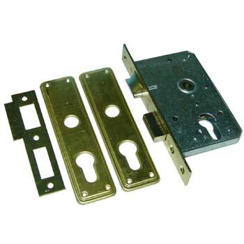 Cerradura embutir sin cilindro mcm 1505