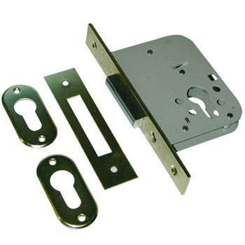 Cerradura embutir sin cilindro mcm 1612