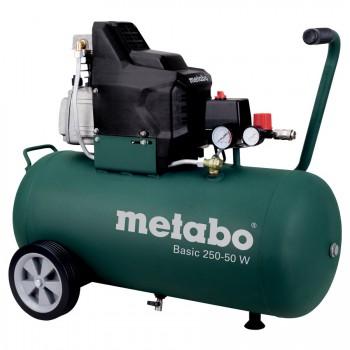 Compresor metabo con aceite mod. basic 250-50 w