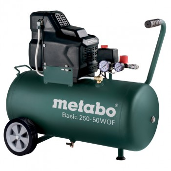 Compresor metabo sin aceite mod. basic 250-50 w of
