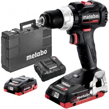 Taladradora atornilladora de batería metabo mod. bs 18 lt bl se