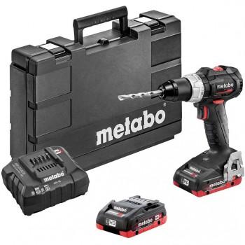 Taladradora de percusión de batería de 18 voltios metabo mod. sb 18 lt bl se
