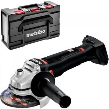 Carcasa de amoladora angular de batería metabo mod. wb 18 ltx bl 125 q se (sin batería)