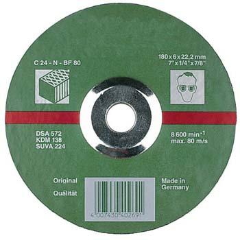 Disco de desbaste c24n piedra