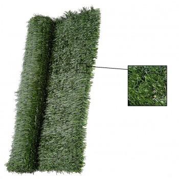 Seto artificial decorativo de color verde mod. teixverd lux +
