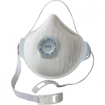 Mascarilla air plus (ffp2 r d) con válvula ventex® mod. 3305
