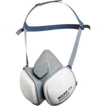 Mascarilla desechable ffa1 p2 r d compactmask mod. 5120