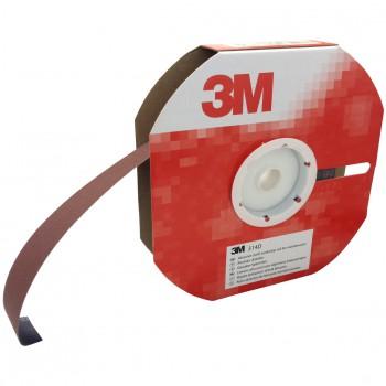 Rollo abrasivo con soporte de tela flexible (j) y mineral abrasivo de óxido de aluminio