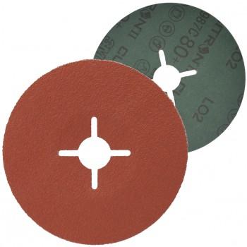 Disco abrasivo con soporte de fibra y mineral cubitron™ ii ref. 987c
