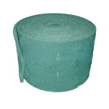 Rollo scotch-brite™ de fibra verde gruesa con mineral de óxido de aluminio (250 mm)
