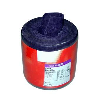 Hoja scotch-brite™ de fibra muy flexible de mineral óxido de aluminio (a)