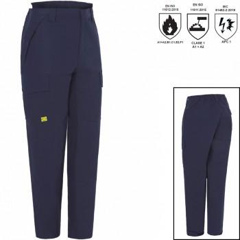 Pantalón 100% algodón retardante a la llama epi cat iii mod. 04916
