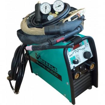 Máquina portátil para soldadura tig ref. mobitig 180 ac/dc + antorcha tig ref. th 202 g + accesorios