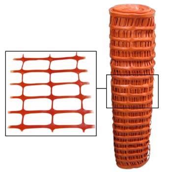 Malla de balizamiento naranja