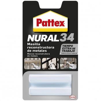 Masilla reconstructora de metales nural 34