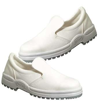 Zapatos de protección panter mod. canela s2 blanca