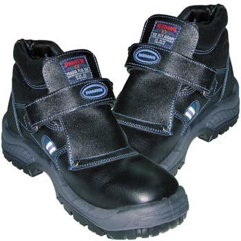 Botas de protección panter mod. fragua velcro plus s3 negro