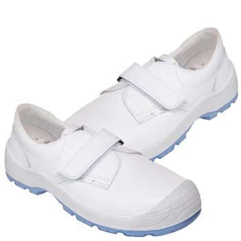 Zapatos de protección panter mod. diamante totale velcro s2 blanca