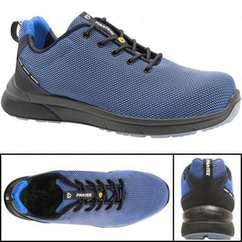 Zapatos de seguridad panter mod. forza sporty s3 azul esd
