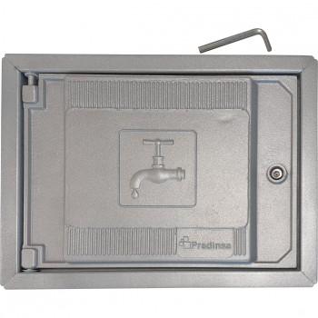 Puerta de registro de aluminio