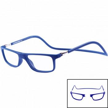 Gafas de seguridad desmontable (magnética) para oficina mod. passport 120 bluestop