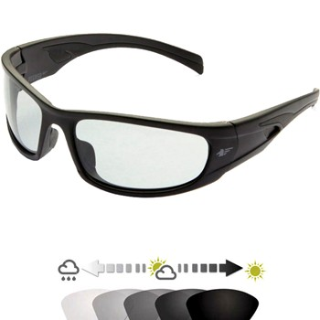 Gafa de protección contra impactos mod. 121.99.030  con lente fotocromática