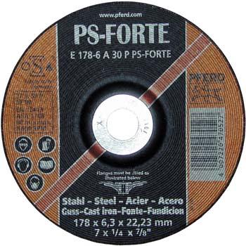 Disco de desbaste a 30 p ps-forte acero/fundición