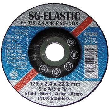 Disco de tronzar sg-elastic acero fino-inox