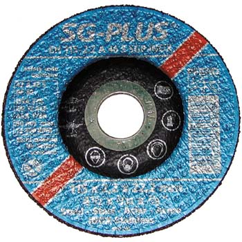 Disco de tronzar 42 a 46 s sgp-inox acero fino-inox