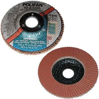 Disco de láminas lijadoras polifan sg-a-forte pff