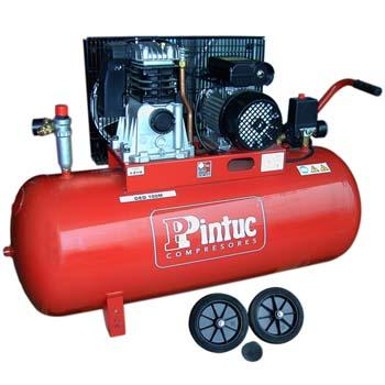 Compresor pintuc geo 100m con transmisión por correa