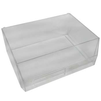 Cajón transparente para estantes clasificadores