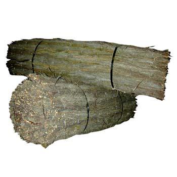 Brezo extra tejido con alambre galvanizado.