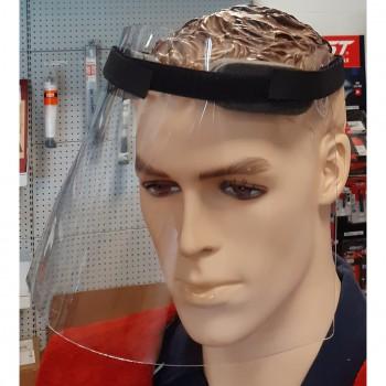 Pantalla facial transparente antisalpicaduras
