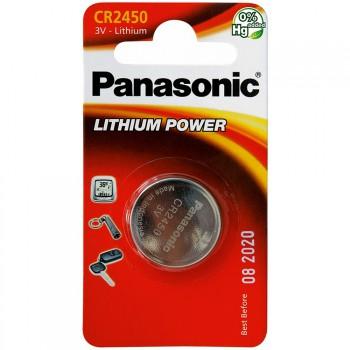 Pila de botón panasonic cr2450 de 3 v.