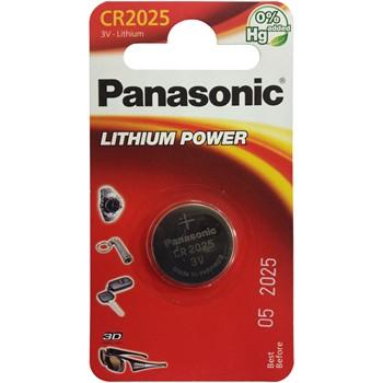 Pila de botón panasonic cr2025 de 3 v.