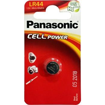 Pila de botón panasonic lr44 de 1,5 v.