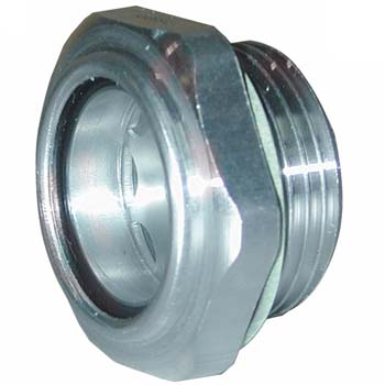 Visor de aluminio y cristal
