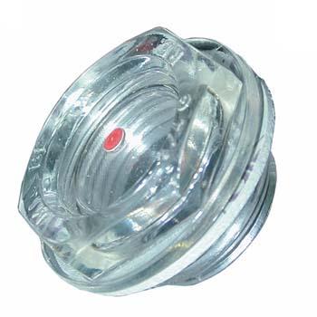 Visor de nylon-cristal simplex